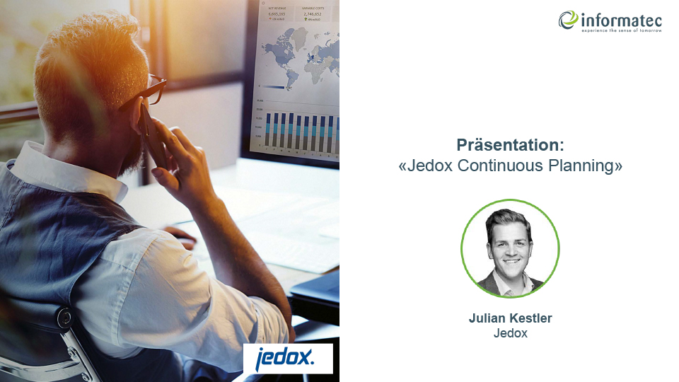 Jedox Presentation & Live Demo Continuous Planning