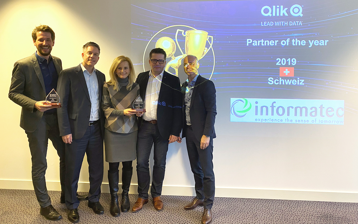 Informatec Qlik Partner of the Year 2019 Switzerland
