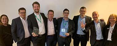 Informatec Qlik Partner of the Year CH & MSP Partner of the Year DACH