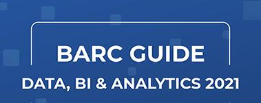 BARC Guide Data, BI & Analytics 2021