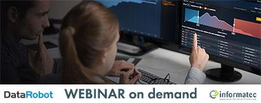 Webinar on demand DataRobot vom 23.04.2020