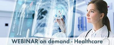 Webinar on demand Healthcare
